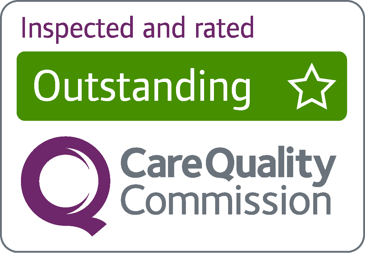 Rated Outstanding by the Care Quality Commission